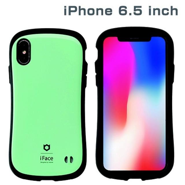 iPhone XS Max 6.5インチ専用iFace First Class Standardケース(ミント) 41-897065