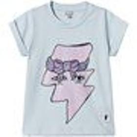 Tシャツ トップス カットソー キッズ 女の子【Civiliants Light Blue Flash T-Shirt】