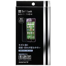 DIGNO U 404KC用 液晶保護ガラス SoftBank SELECTION SB-EF36-GAKY