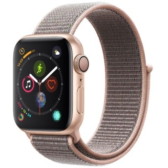 Apple Watch Series 4(GPSモデル)- 40mm ゴールドアルミニウムケースとピンクサンドスポーツループ MU692J/A