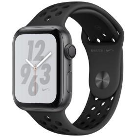 Apple Watch Nike+ Series 4(GPSモデル)- 44mm スペースグレイアルミニウムケースとアンスラサイト/ブラックNikeスポーツバンド MU6L2J/A