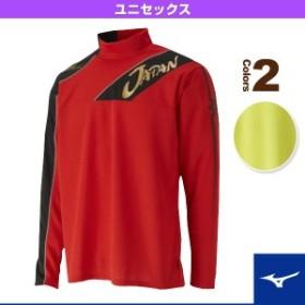 [ミズノ テニス・バドミントン ウェア(メンズ/ユニ)]JAPANブレスサーモライトスウェットシャツ/ソフトテニス日本代表応援/ユニセック