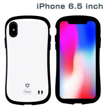 iPhone XS Max 6.5インチ専用iFace First Class Standardケース(ホワイト) 41-897003