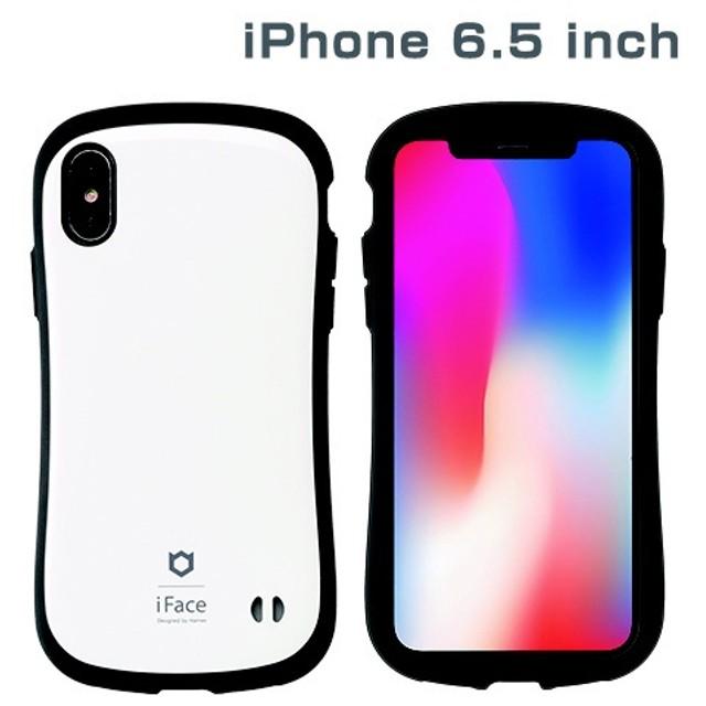 iPhone XS Max 6.5インチ専用iFace First Class Standardケース(ホワイト) 41-897003