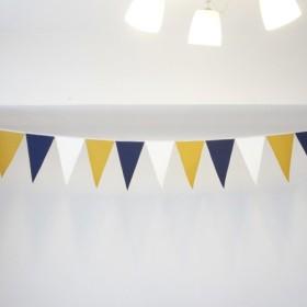 布ガーランド 290cm フラッグ 旗 結婚式 パーティー キャンプ 飾り プレミアム