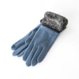 SAX女性用手袋 ファ-付