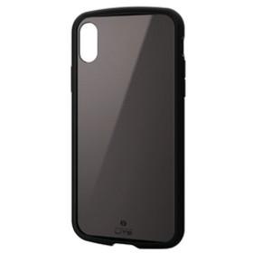 エレコムiPhone XS用TOUGH SLIM LITEブラックPM-A18BTSLCBK