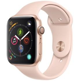 Apple Watch Series 4(GPSモデル)- 44mm ゴールドアルミニウムケースとピンクサンドスポーツバンド MU6F2J/A