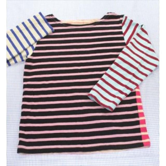 デニム&ダンガリー DENIM&DUNGAREE 長袖Tシャツ ロンt 130cm ボーダー トップス 女の子 キッズ 子供服 通販 買い取り