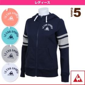 [ルコック オールスポーツ ウェア(レディース)]フーデッドスウエットジャケット/レディース(QB-565261)