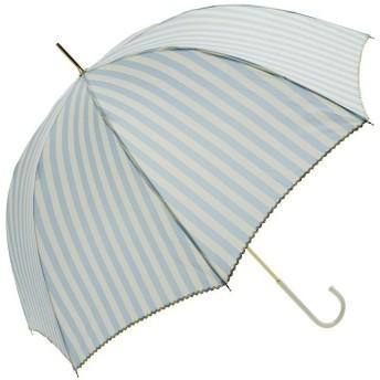 BACKYARD FAMILY ビーサニー BE SUNNY 長傘 晴雨兼用 58cm レディース ブルー 長傘 【BACKYARD FAMILY】