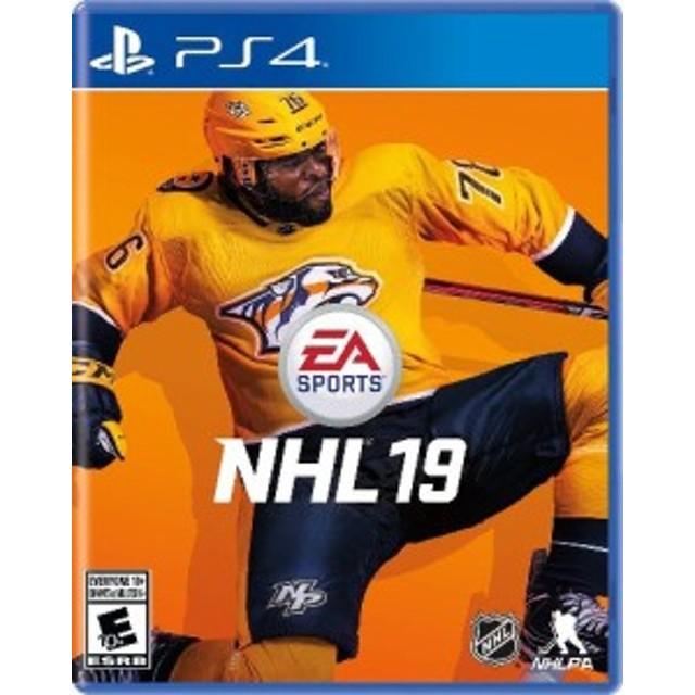 PS4 NHL 19(エヌエイチエル19 北米版)〈Electronic Arts〉[新品]