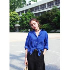 雑誌SHe11月号/mer11月号掲載ビッグポケットボクシーシャツ・全6色・b46700