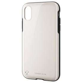 エレコムiPhone XR用TOUGH SLIM2ホワイトPM-A18CTS2WH