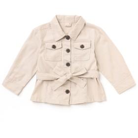 ミリタリージャケット - petitmain リボンベルトつきミリタリージャケット