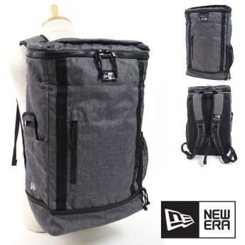 ニューエラ キャップ NEWERA 26L バックパック BOX PACK ボックスパック リュックサック デイパック メンズ レディース カバン Hグレー 11783342 FW18