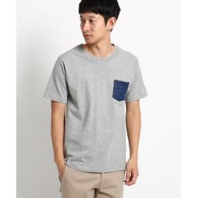 BASE CONTROL(ベースコントロール) 【WEB限定】ポケット ボーダー 半袖Tシャツ