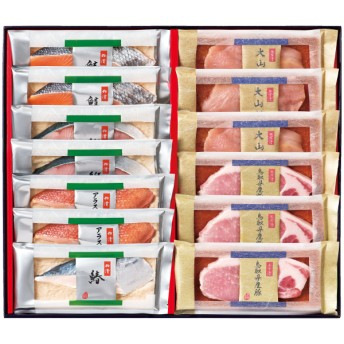【送料無料】たじみや 魚の粕漬・肉の西京漬詰合せB たまひよSHOP・たまひよの内祝い