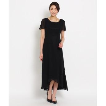 WORLD FORMAL SELECTION(ワールド フォーマル セレクション) EMOTIONALL DRESSES ヘム重ねマキシワンピース