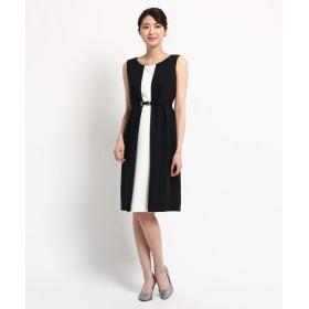 cc6201a14869a WORLD FORMAL SELECTION(ワールド フォーマル セレクション) EMOTIONAL DRESSES ベルト付き配色ワンピース