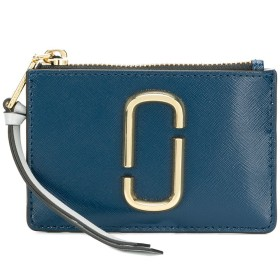 Marc Jacobs Snapshot コンパクト財布 - ブルー