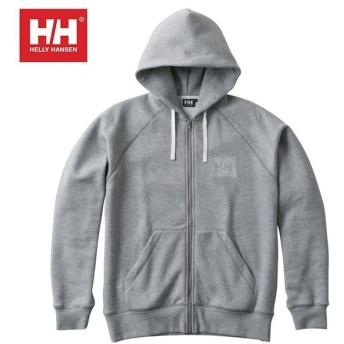 ヘリーハンセン HELLY HANSEN スウェット メンズ HH Logo Full-zip Sweat Hoodie HHロゴフルジップスウェットフーディー HE31864 Z od