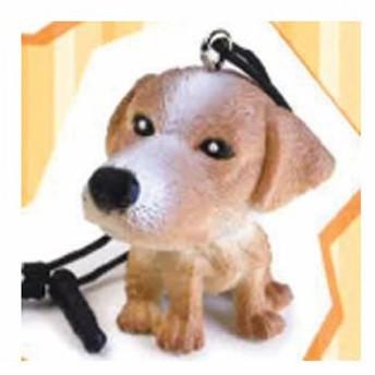 THE 犬 イヤホンジャックマスコット 6:ジャックラッセルテリア ビーム ガチャポン
