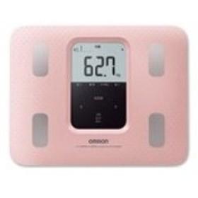 OMRON(オムロン) HBF-220-PK 【体組成計・体脂肪計付き】体重計 「カラダスキャン」 ピンク