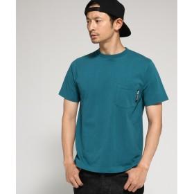 BASE CONTROL(ベースコントロール) Tシャツ メンズ クルーネック ポケット 半袖Tシャツ
