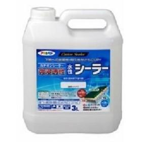 アサヒペン AP 強浸透性水性シーラー 3L 透明(クリヤ)