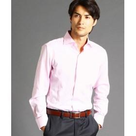 ムッシュニコル セミワイドカラードレスシャツ メンズ 08ピンク 48(L) 【MONSIEUR NICOLE】