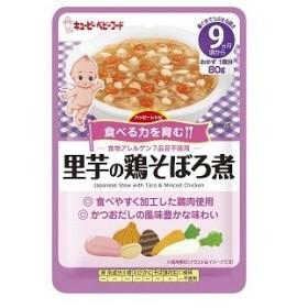 キューピーベビーフード ハッピーレシピ 里芋の鶏そぼろ煮 80g HA-22 9ヵ月頃からの離乳食 食物アレルゲン7品目不使用