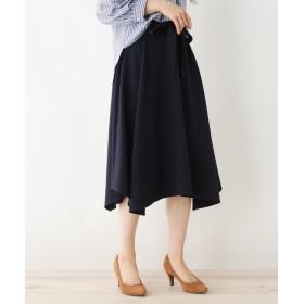 SHOO・LA・RUE/DRESKIP(シューラルー/ドレスキップ) イレギュラーヘム共リボン付きスカート
