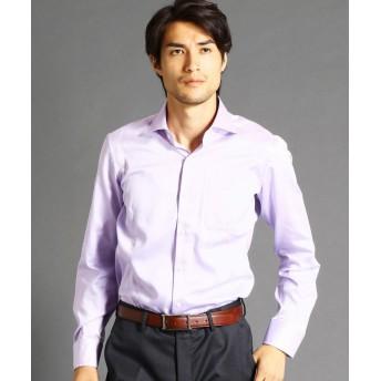 ムッシュニコル セミワイドカラードレスシャツ メンズ 88ラベンダー 44(S) 【MONSIEUR NICOLE】