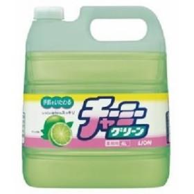 (まとめ) ライオン チャーミーグリーン 業務用 4L 1個 【×3セット】 緑