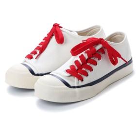 ディガウト DIGOUT DEAN (Low-Top Vulcanized Sneakers) (WHITE)