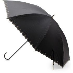 SHOO・LA・RUE/DRESKIP(シューラルー/ドレスキップ) 【晴雨兼用】スタースカラップパラソル(長傘)