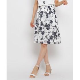 INDIVI(インディヴィ) フラワープリントスカート