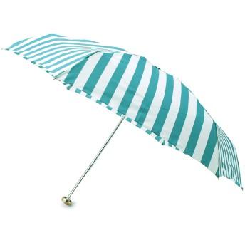 ITS' DEMO(イッツデモ) 晴雨兼用ストライプミニ折り畳み傘