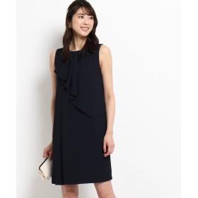 WORLD FORMAL SELECTION(ワールド フォーマル セレクション) EMOTIONALL DRESSES アシメジョーゼットワンピース