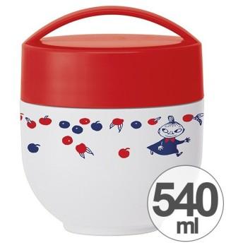 保温弁当箱 ランチボックス どんぶり型 コンパクトタイプ ミイ トリコロール 540ml ( 丼 麺 お弁当箱 保温 保冷 )