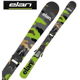 ELAN ( エラン スキー板 ) ショートスキー125cm 135cm 【18-19 モデル】 FREELINE CAMO + EL10.0 SHIFT GW 【金具付き スキーセット】