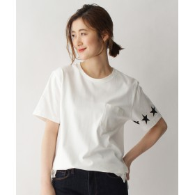 BASE CONTROL LADYS(ベース コントロール レディース) 【WEB限定】スターライン Tシャツ14505