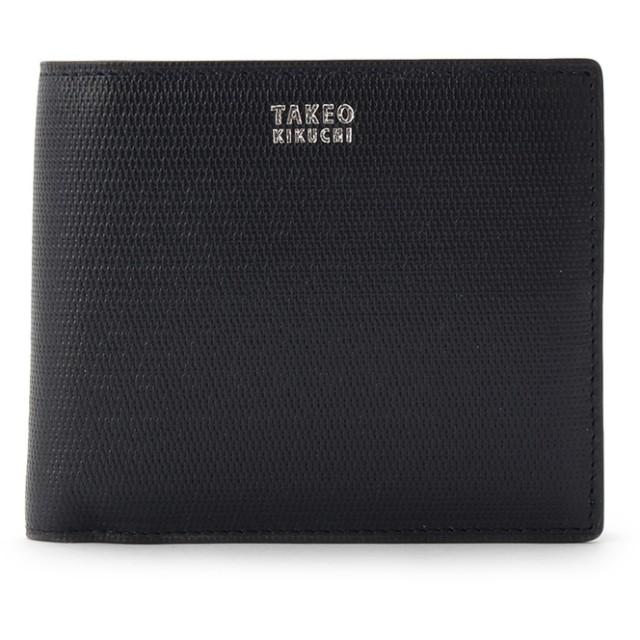 TAKEO KIKUCHI(タケオキクチ) ミニメッシュ2つ折り財布 [ メンズ 財布 サイフ 定番 二つ折り ギフト プレゼント ]