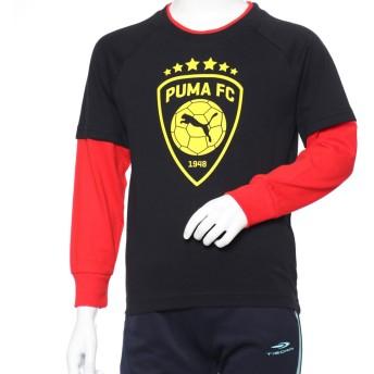 プーマ PUMA ジュニア 長袖Tシャツ レイヤード LS Tシャツ 754287