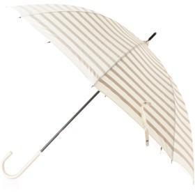 passage mignon(パサージュ ミニョン) ボーダープリント晴雨兼用長傘