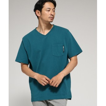 BASE CONTROL(ベースコントロール) Tシャツ メンズ Vネック WEB限定