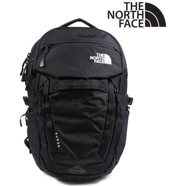 ザノースフェイス THE NORTH FACE リュック メンズ バックパック SURGE T93ETVJK3 ブラック