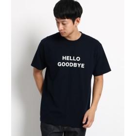 Dessin(Men)(デッサン(メンズ)) ロゴフロッキーTシャツ