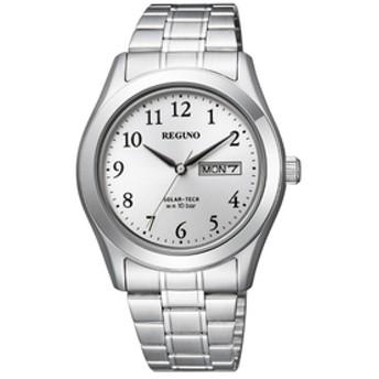 シチズンソーラーテック腕時計レグノ白KM1-211-13